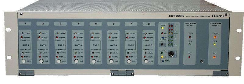 Distributeur / amplificateur modulaire - ext220-2