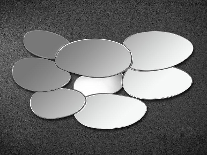 Miroir en forme de gouttes for Forme miroir