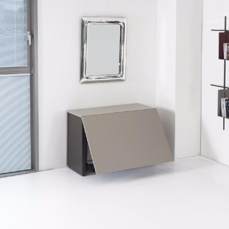 Console extensible proteo chocolat taupe comparer les prix de console extensi - Console extensible taupe ...
