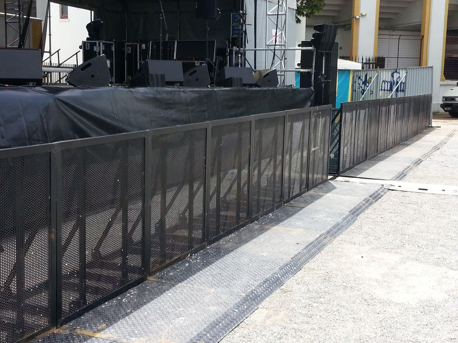 Crash barriere