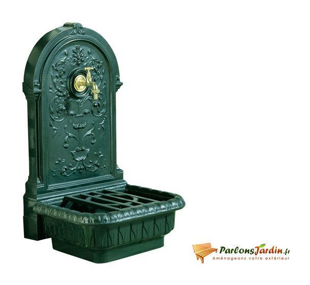 Fontaines de jardin comparez les prix pour for Deco jardin en fonte