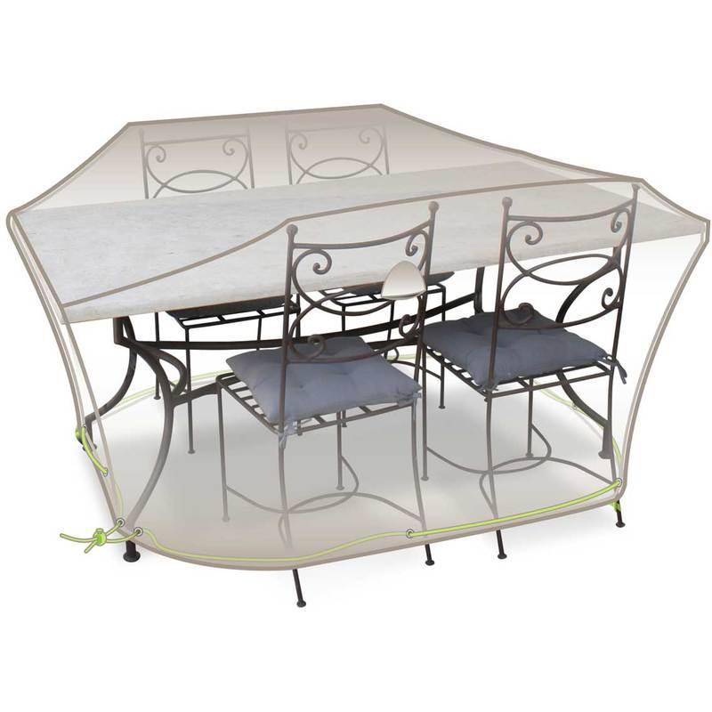 housse de protection pour salon de jardin 190 x 120 x 70. Black Bedroom Furniture Sets. Home Design Ideas