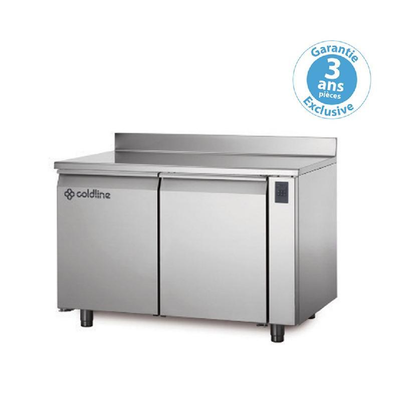 Table réfrigérée positive master sans plan de travail sans groupe 2 portes 223 litres - ts131mqr-2