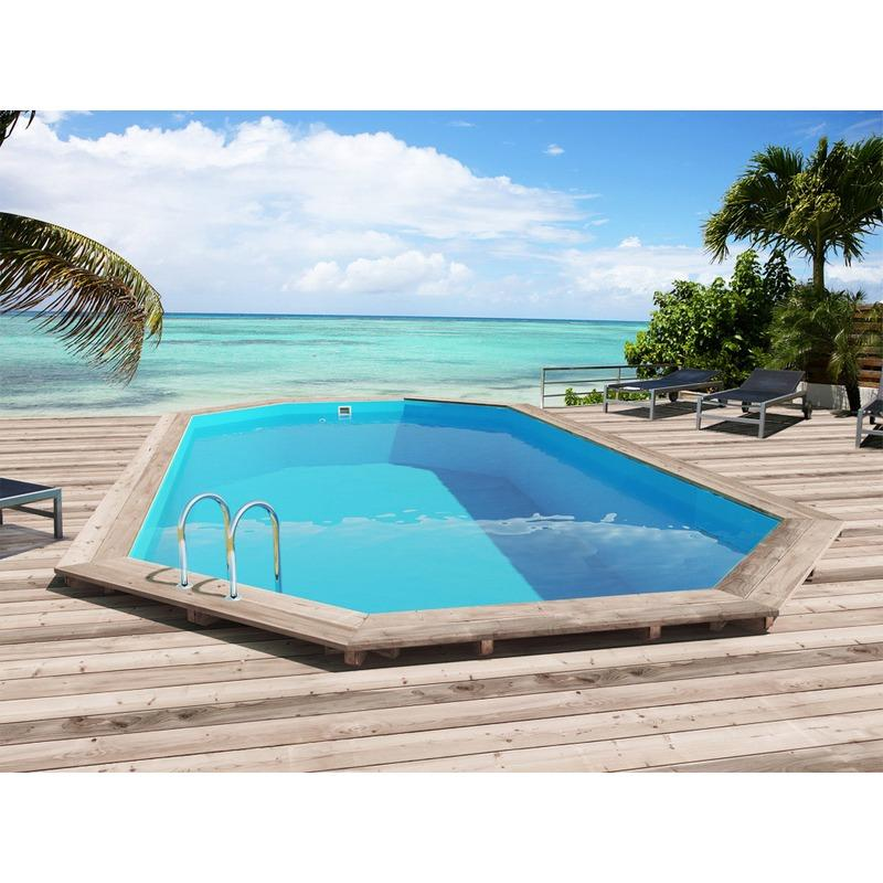 Piscines viva pool achat vente de piscines viva pool for Piscine semi enterree bois hexagonale