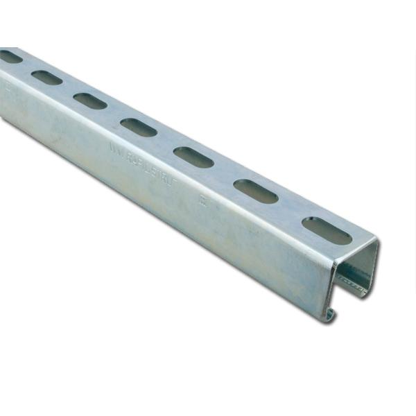 RAIL BIS RAPIDSTRUT GS 41X41X2MM LONGUEUR 2ML WALRAVEN