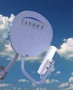 Transmission de données canopy motorola