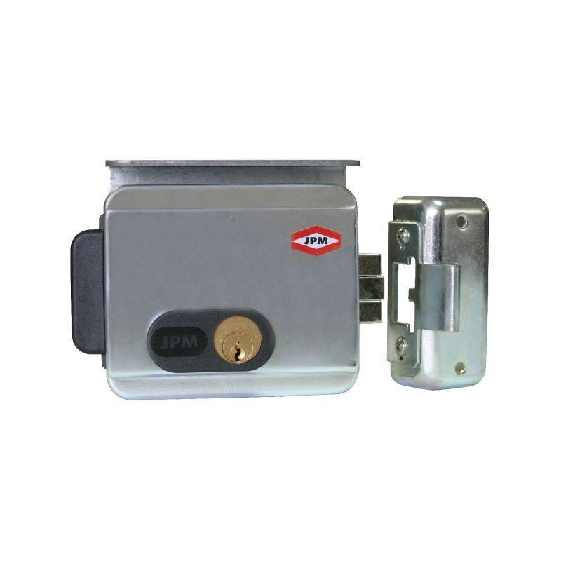 ELECTRO-SERRURE EN APPLIQUE - CYLINDRE 2 ENTRÉES - SÉRIE 511 - JPM