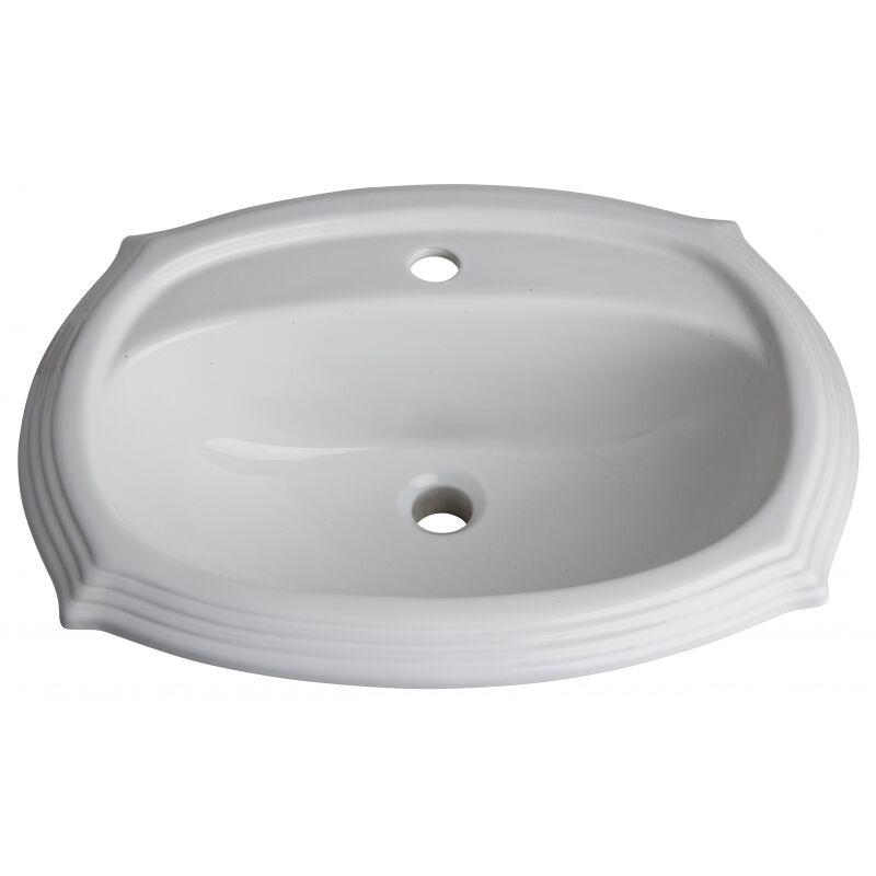 vasque encastrer r tro blanche planetebain comparer les prix de vasque encastrer r tro. Black Bedroom Furniture Sets. Home Design Ideas
