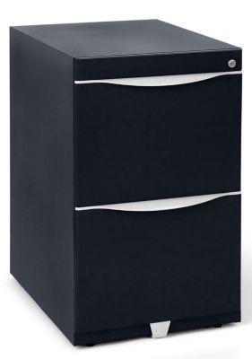 Bisley caisson fixe en acier 2 tiroirs pour dossiers suspendus noir profond comparer les - Caisson 2 tiroirs dossiers suspendus ...
