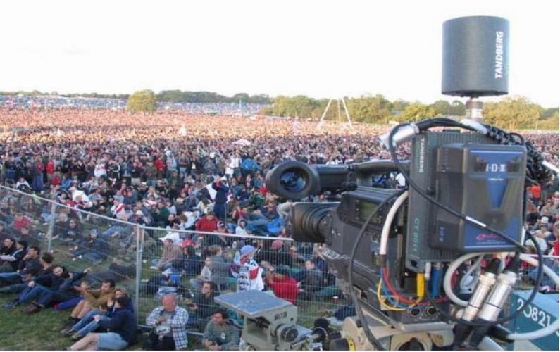 émetteur de signal vidéo numérique - voyager