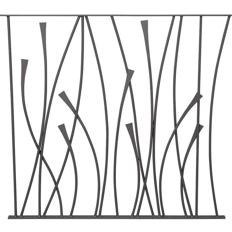 PANNEAU DESIGN FLORAL 1100X970 - DECO FER FORGE