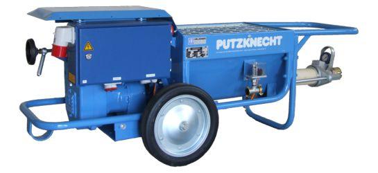 Putzknecht s30-r210-hd40 - machine à projeter uelzener - pompe à mortier, pompe à vis