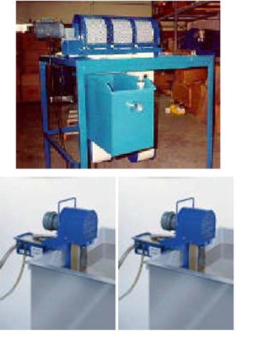 Système de récupération pour forte viscosité f100 et f200