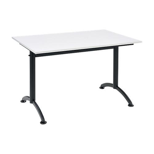 TABLE MULTI-USAGES CAFÉTÉRIA 1200 X 800 MM GRIS
