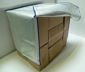 Housse pour roll chariot container ou palette tous les for Housse isotherme pour palette