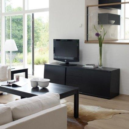 meuble tv hi fi style scandinave. Black Bedroom Furniture Sets. Home Design Ideas