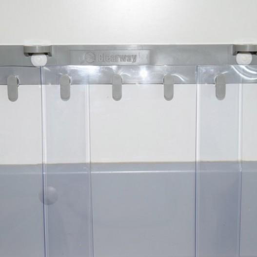 Rideau à lanières pvc grand froid pour chambre froide et congelateur