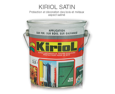 ANTIROUILLE KIRIOL SATIN BLANC 2.5 LITRES