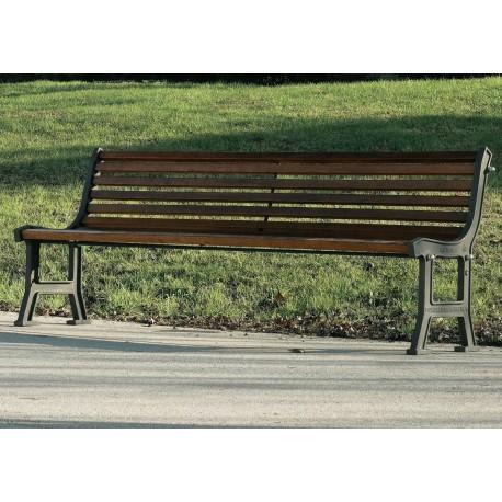 Banc de jardin comparez les prix pour professionnels sur - Banc de jardin en bois et fonte ...