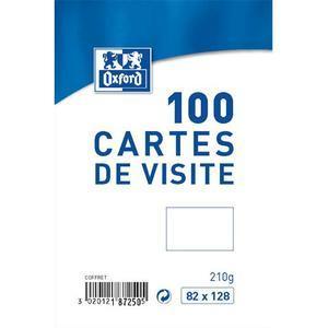 OXF B 100 CARTES VISITE 82X128 100101003