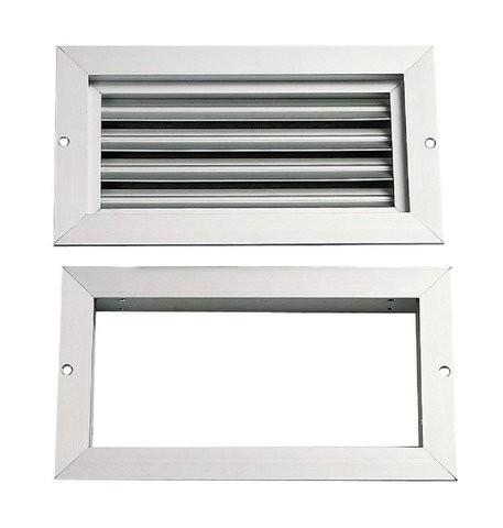 Grilles de ventilation renson argenta ventilation achat for Porte avec grille de ventilation