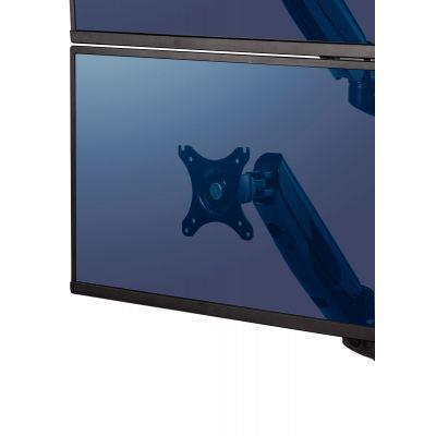 Bras porte-écrans double vertical platinum series