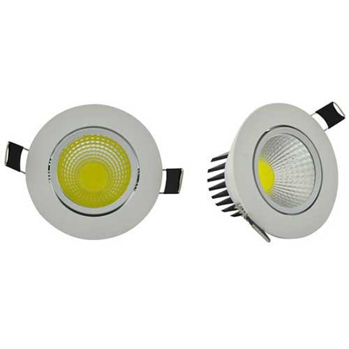 SPOT LED ENCASTRABLE ET ORIENTABLE NUMI76361