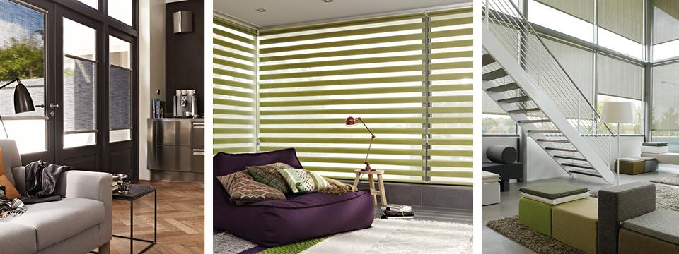 stores rouleaux luxaflex. Black Bedroom Furniture Sets. Home Design Ideas