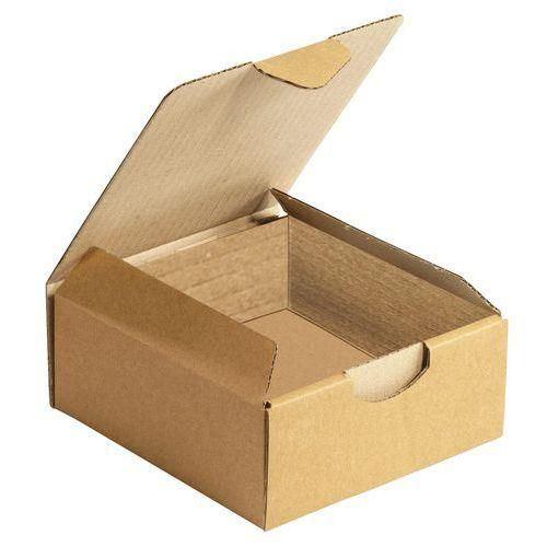 bo te d 39 exp dition carton kraft multi usages languette havane comparer les prix de bo te d. Black Bedroom Furniture Sets. Home Design Ideas