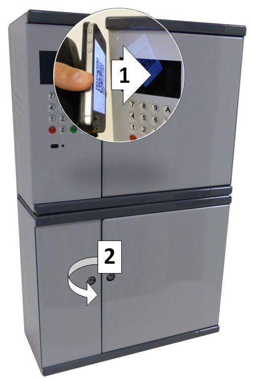 Facilitybox-colis : armoire de livraison et retrait via mobile