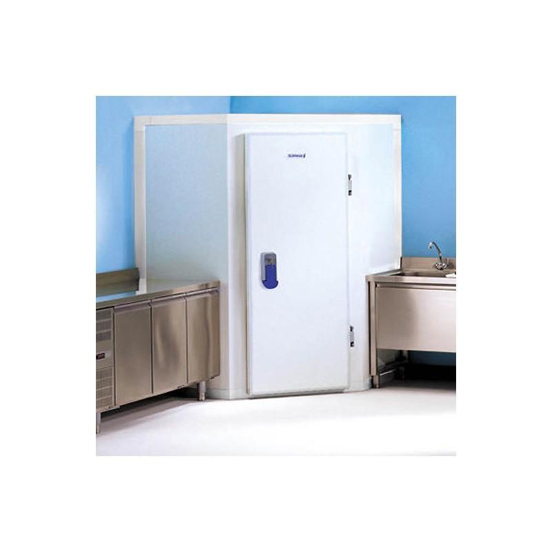 mini chambre froide negative d 39 angle avec sol petit espace. Black Bedroom Furniture Sets. Home Design Ideas