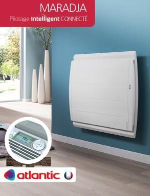 radiateur atlantic maradja 1000w pilotage intelligent connect horizontal 507610 comparer les. Black Bedroom Furniture Sets. Home Design Ideas