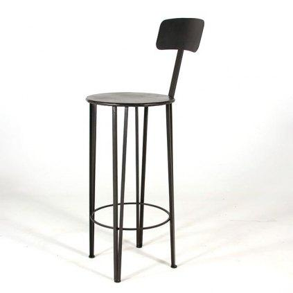 tabouret en fer forge hauteur 80 cm. Black Bedroom Furniture Sets. Home Design Ideas
