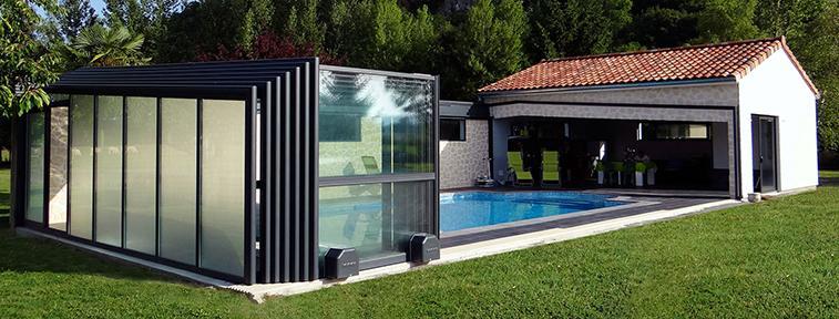 Abris de piscines tous les fournisseurs abri de for Abri haut de piscine
