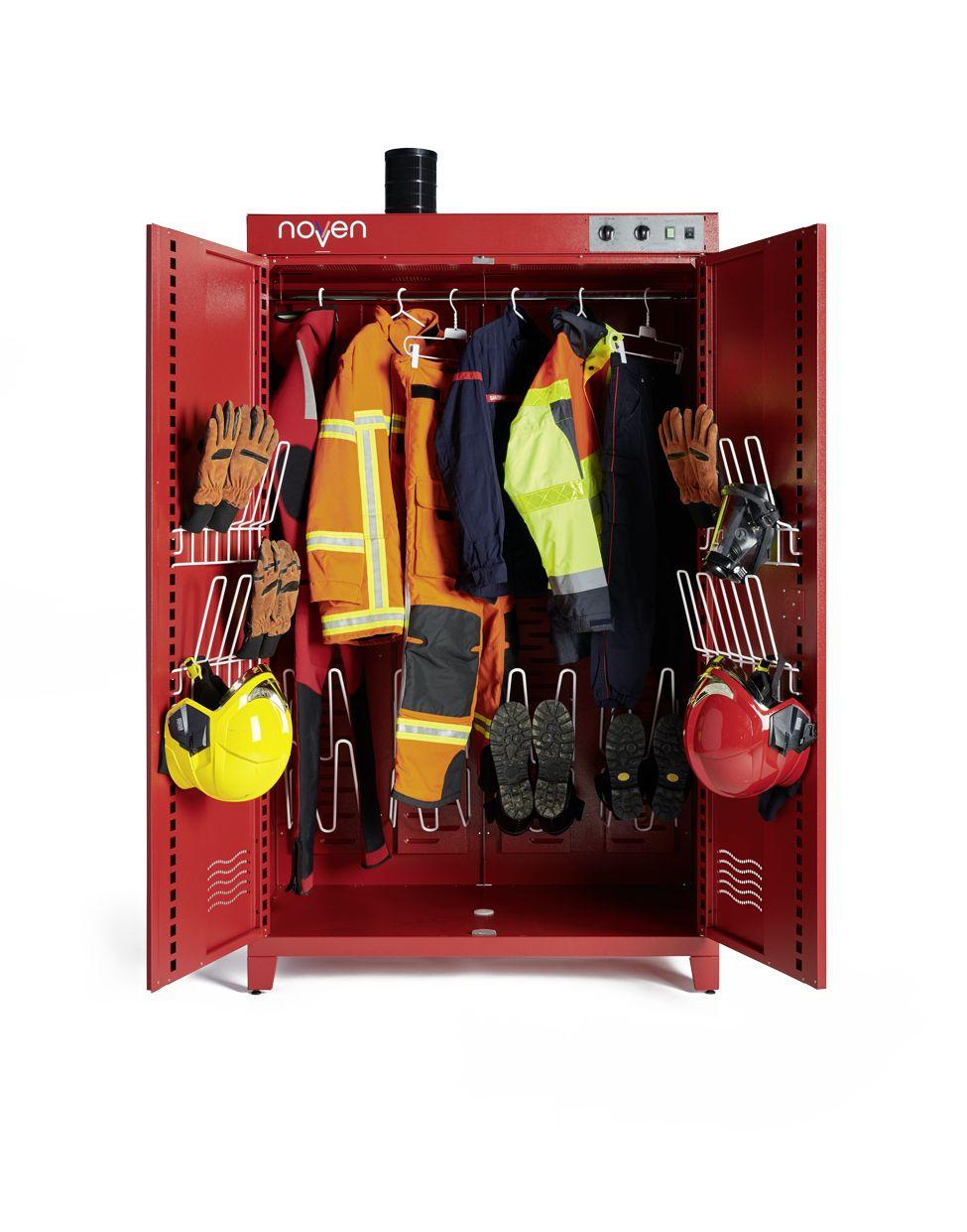 Armoire sechante, desinfectante et de depollution- gamme pompier