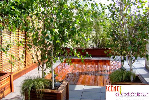 Services d 39 amenagement de terrasses tous les for Conception de jardin terrasse