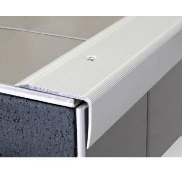 dinac nez de marche stri en alu anodis naturel perc 3 00m x 50mm x 32mm 223101d comparer. Black Bedroom Furniture Sets. Home Design Ideas