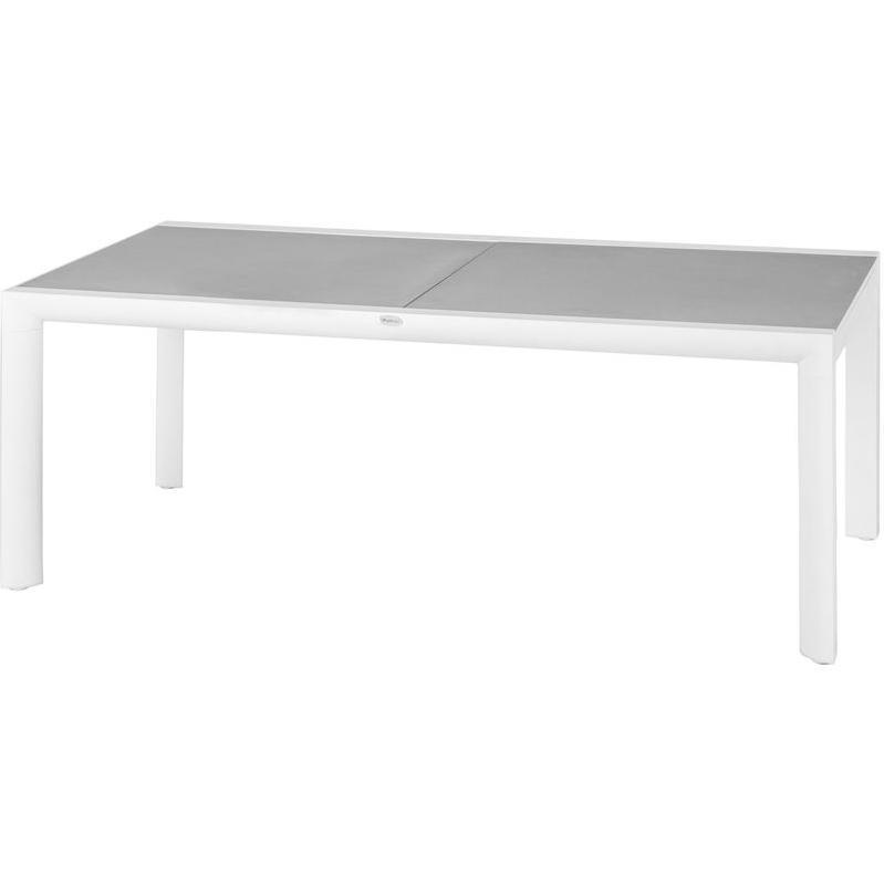 TABLE DE JARDIN HESPÉRIDE CARRÉE CAMARGUE 70 X 70 CM LAGON ...