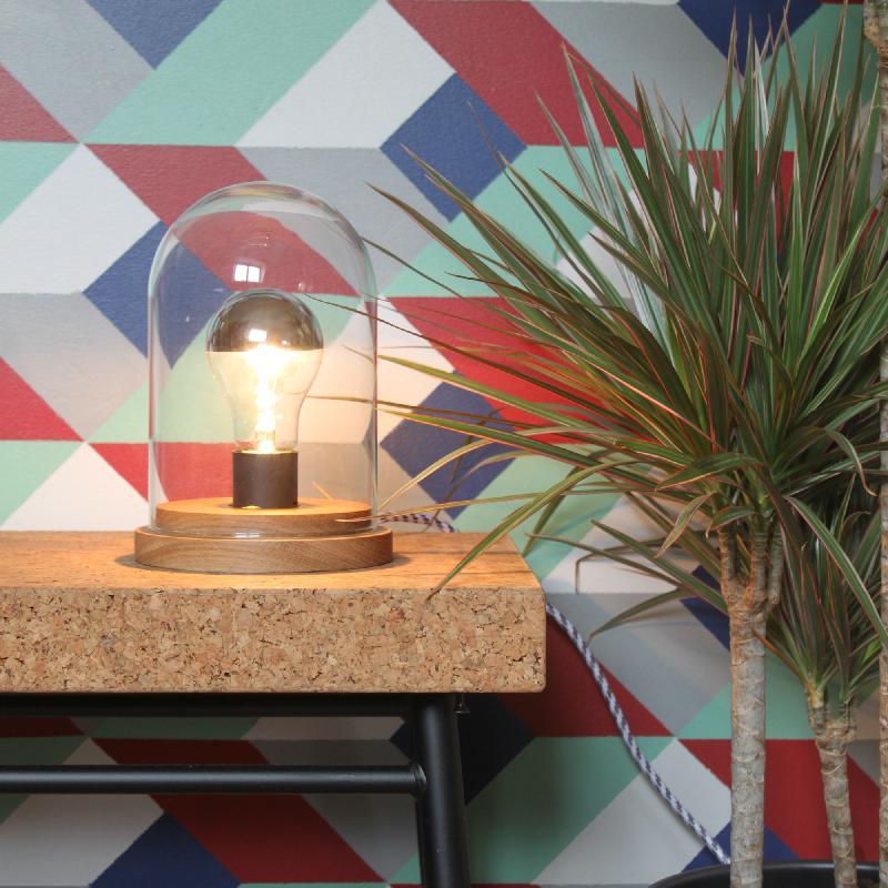 Box Poserapplique Bois Lux Lampe Peupliermétal Doré À Murale L40cm n0Pk8wOX