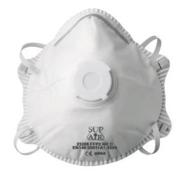 SUP AIR - MASQUE RESPIRATOIRE FFP2D - 10 PIÈCES - 23206