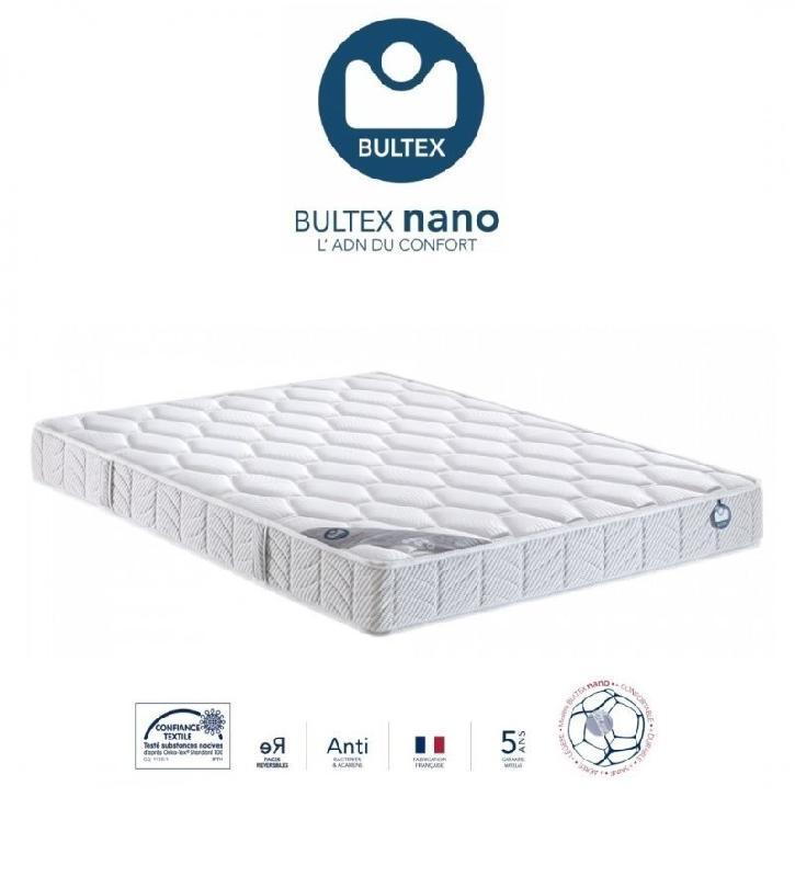 bultex matelas 180 200 cm i novo 130 epaisseur 22 cm king size. Black Bedroom Furniture Sets. Home Design Ideas
