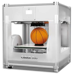 3d solutions imprimante duo cube x grise argent 401384