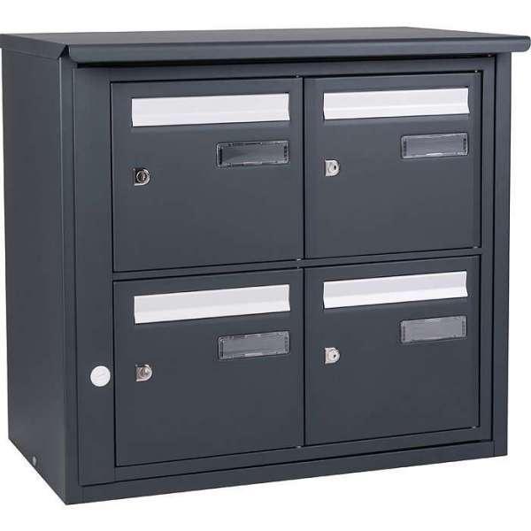 boites aux lettres collectives tous les fournisseurs boite lettre collective boite lettre. Black Bedroom Furniture Sets. Home Design Ideas