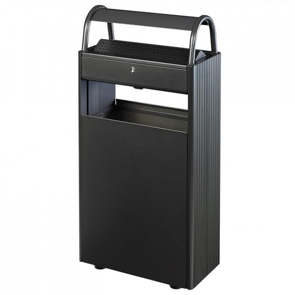 cendrier poubelle exterieur 60 l. Black Bedroom Furniture Sets. Home Design Ideas