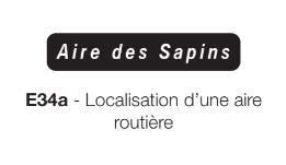 Signalisation de localisation e 34a