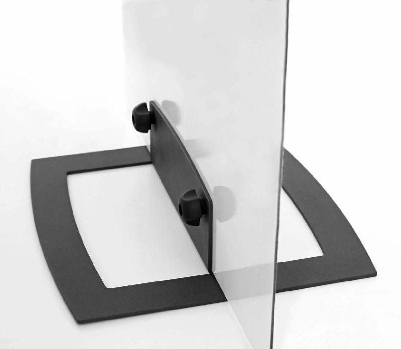 signaletique autoportante pied quickbase pour panneau rigide max 3kg. Black Bedroom Furniture Sets. Home Design Ideas