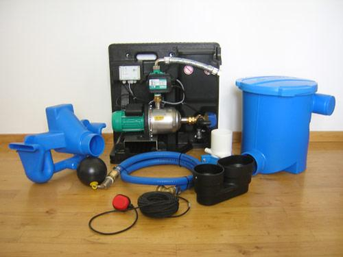 Pack complet de récupération d'eau de pluie