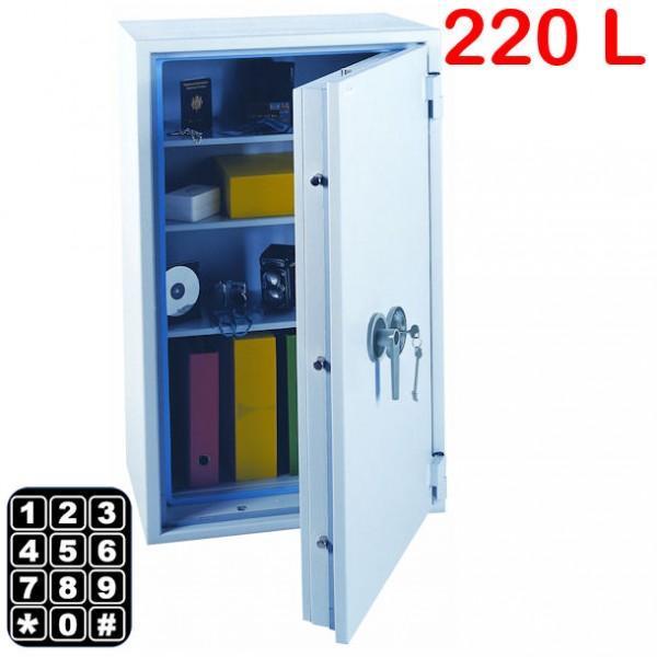coffre anti vol et anti feu 220l a combinaison. Black Bedroom Furniture Sets. Home Design Ideas