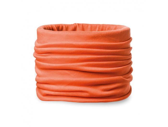 Echarpe publicitaire multifonctions orange