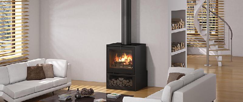 poeles a bois seguin i700p socle bucher. Black Bedroom Furniture Sets. Home Design Ideas